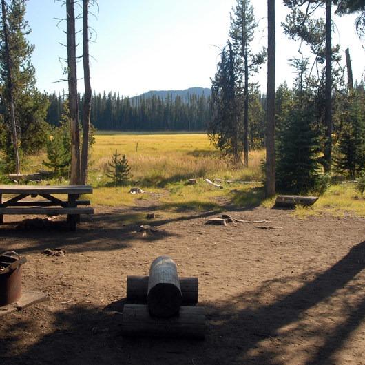 Hosmer Lake Mallard Marsh Campground