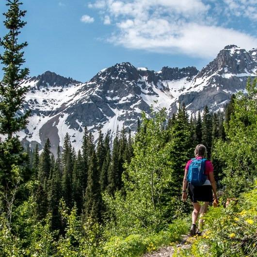Blue Lakes Trail Hike to Lower Blue Lake