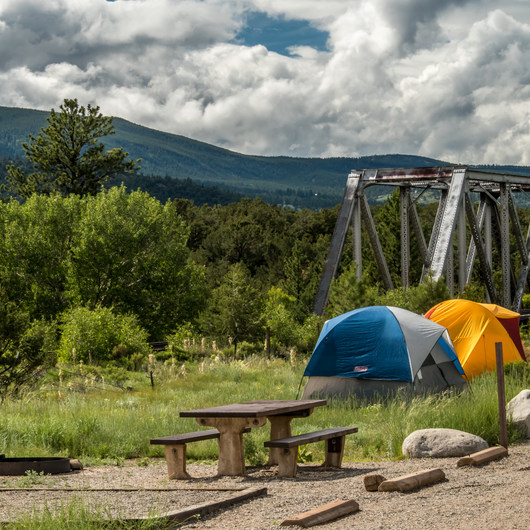 Railroad Bridge Campground