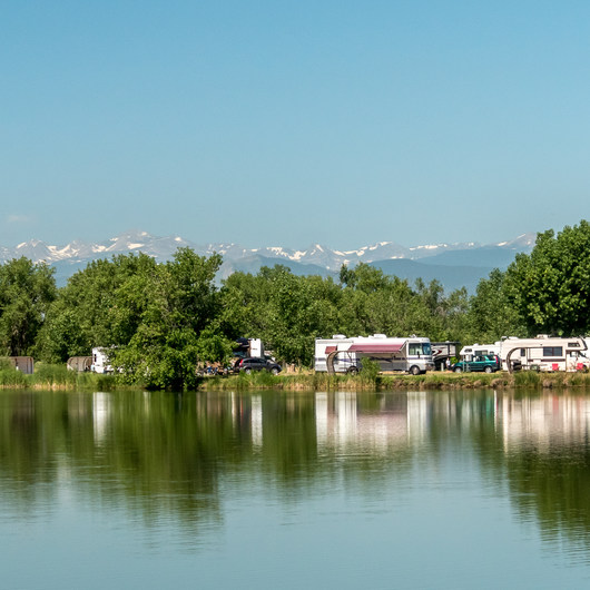 St. Vrain State Park Campground