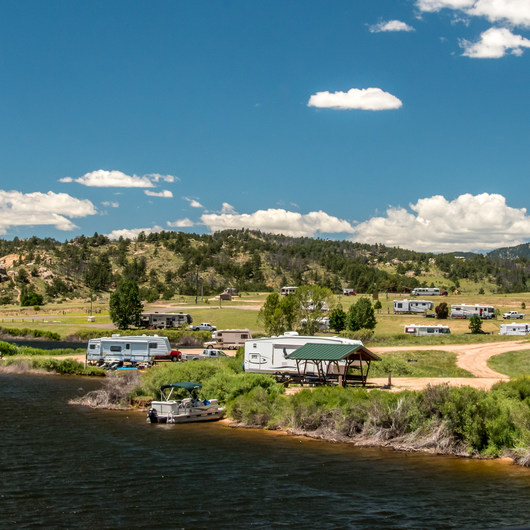 Granite Springs Reservoir Campgrounds