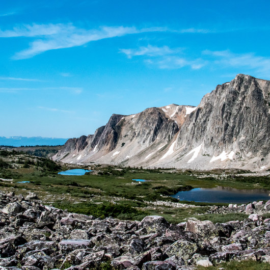 Medicine Bow Peak via Lewis Lake Trailhead