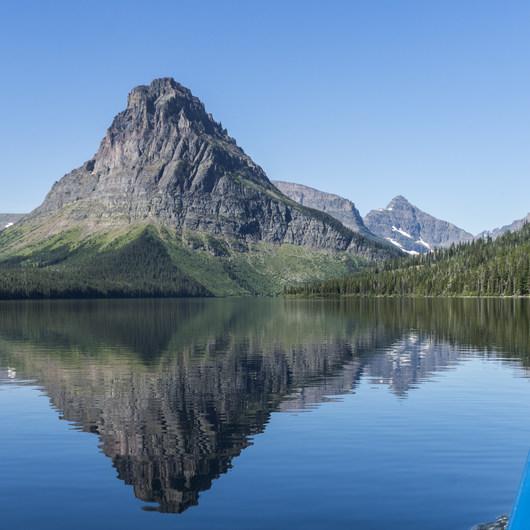 Two Medicine Lake Boat Tour