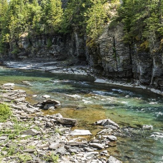 Upper McDonald Creek Trail