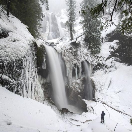 Falls Creek Falls Snowshoe
