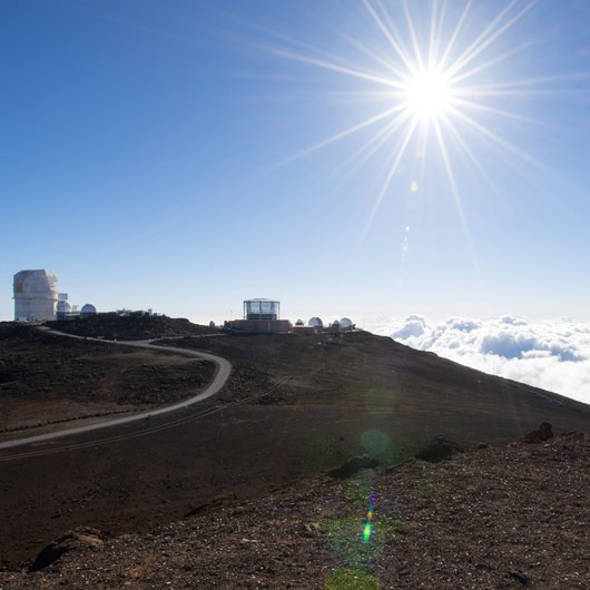 Pu'u'ula'ula Summit / Red Hill + Haleakalā Observatory