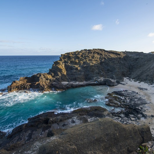 Hālona Blowhole + Beach