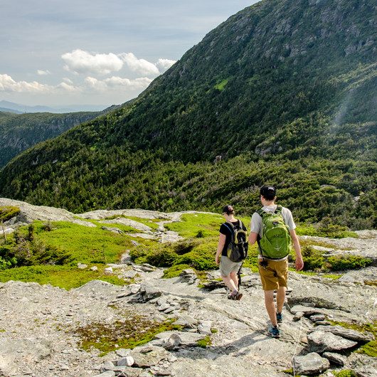Mount Mansfield via Hell Brook + Long Trails