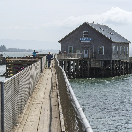 Pier's End Historic Coast Guard Boathouse