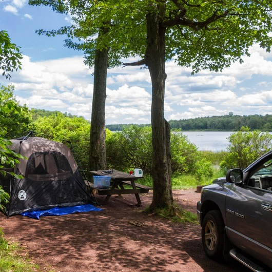 Ricketts Glen State Park Campground
