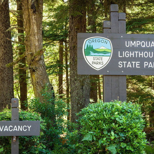 Umpqua Lighthouse State Park Campground