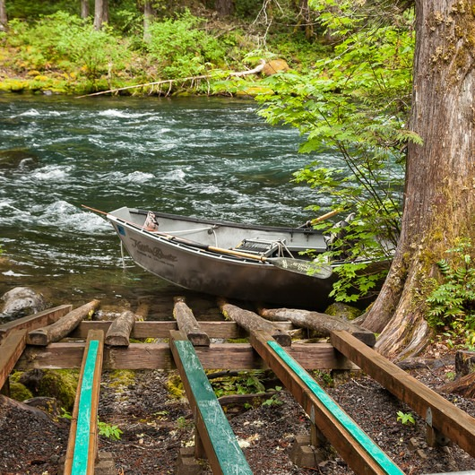 McKenzie River: Olallie to Paradise