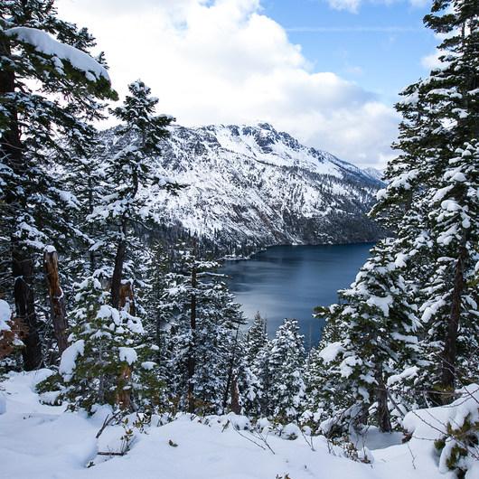Angora Lookout + Angora Lakes