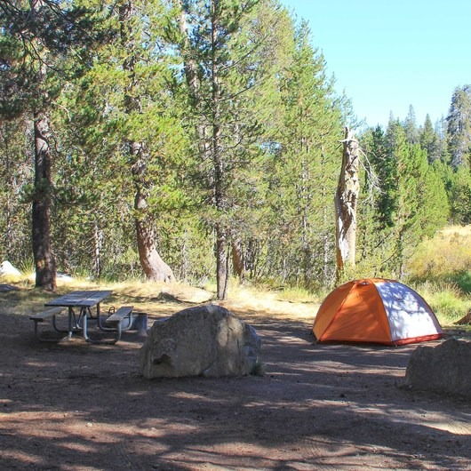 Bridalveil Creek Campground