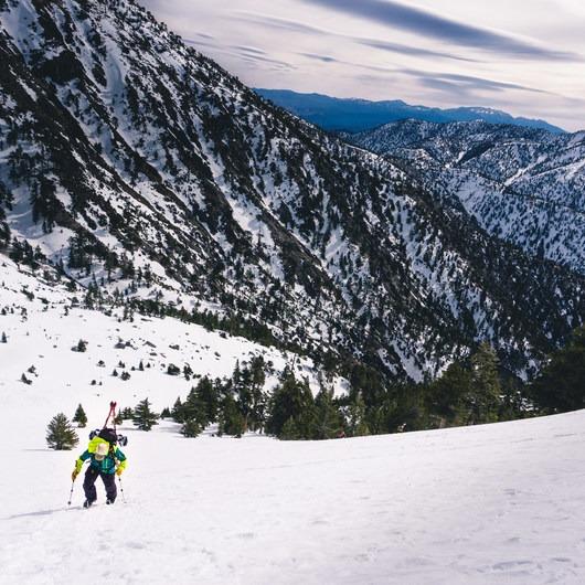 Mount Baldy Bowl via Ski Hut Trail