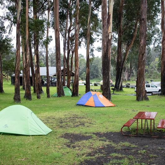 Nāmakanipaio Campground + Cabins