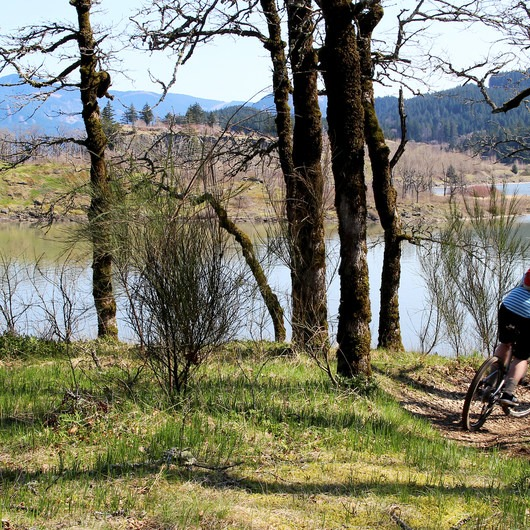 Cascade Locks Mountain Bike Trails