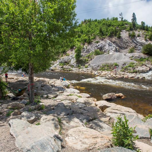 Yampa River, Charlie's Hole