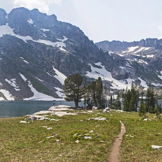 Lake Solitude via Cascade Canyon