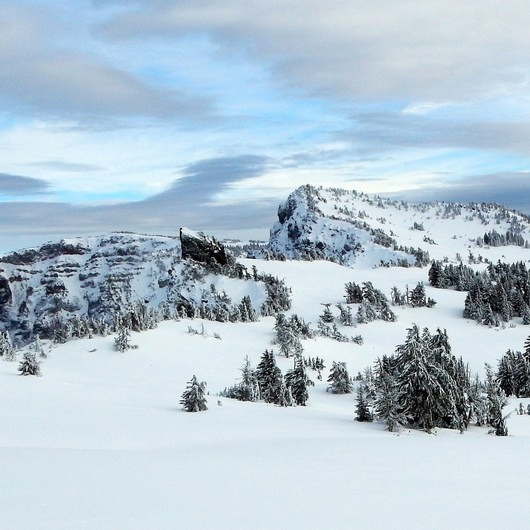 Garfield Peak Snowshoe