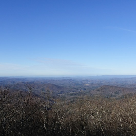 Springer Mountain Loop via Three Forks