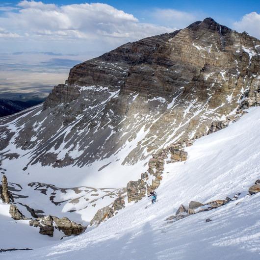 Wheeler Peak Backcountry Skiing