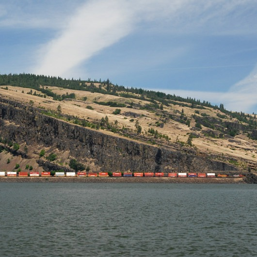 Oil trains are risking it all in the Columbia River Gorge