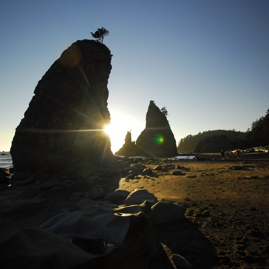 Hole-in-the-Wall, Rialto Beach