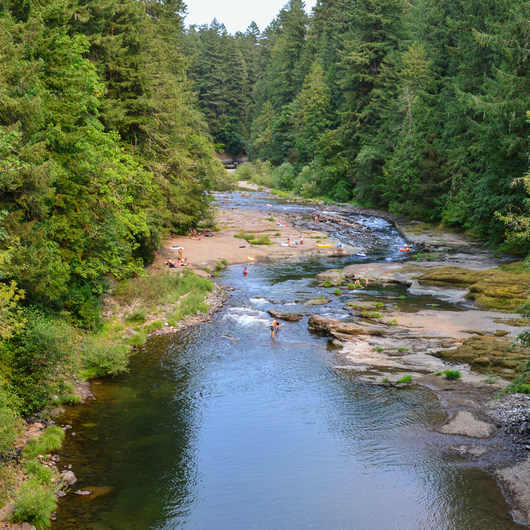 Cascadia State Park Swimming Hole