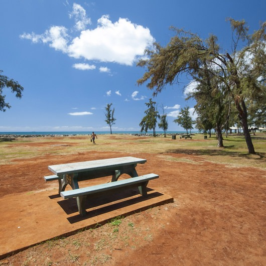 Sand Island State Recreation Area Campground