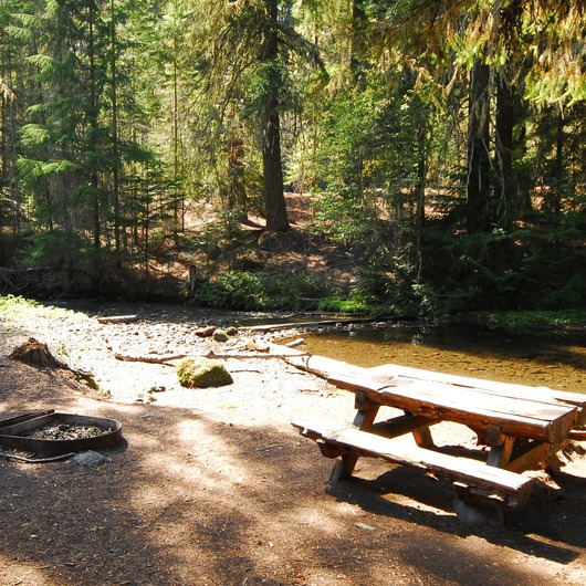 Barlow Crossing Campground + Campsites