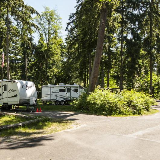 Dash Point State Park Campground
