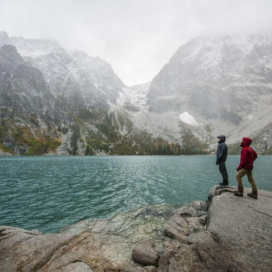 Enchantment Lakes Hike via Colchuck Lake