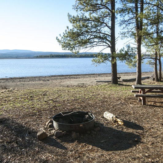 Thompson Reservoir, East Bay Campground