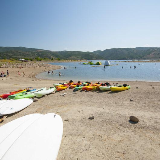 Jordanelle Swim Beach