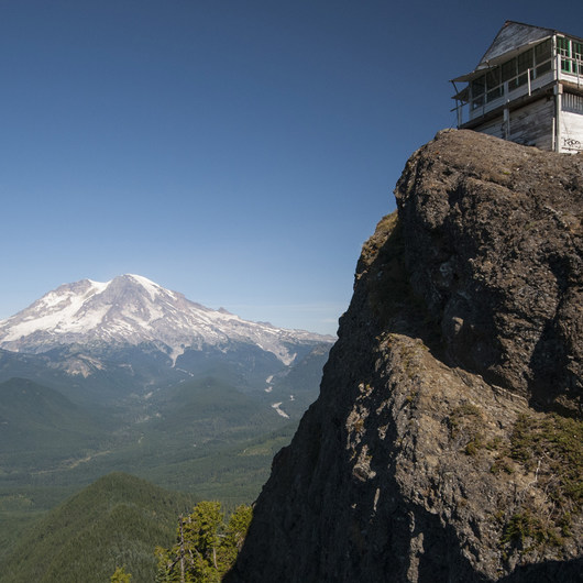 High Rock Lookout Tower Hike