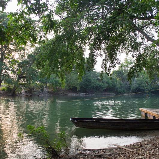 Mopan River: Clarissa Falls