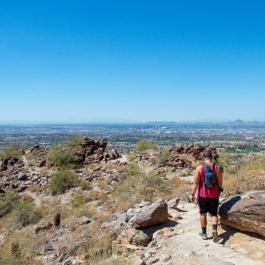 Holbert Trail to Dobbin's Lookout