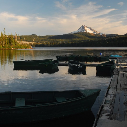 Olallie Lake + Scenic Area