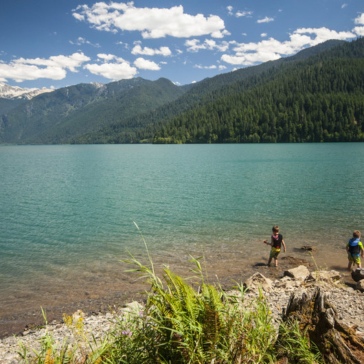 Baker Lake, Panorama Point Campground