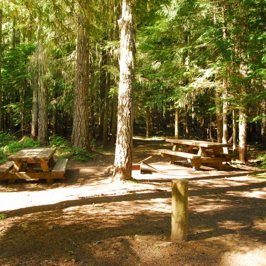 Walupt Lake Horse Camp