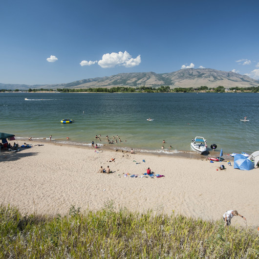 Anderson Cove Campground + Swim Beach
