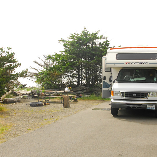 Cape Disappointment Campgrounds A, B + C