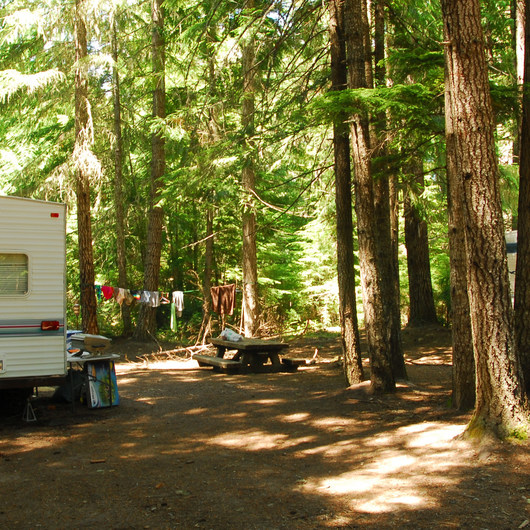 Cat Creek Campground + Campsites
