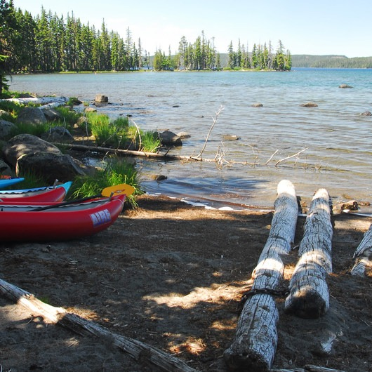 Waldo Lake, Islet Campground