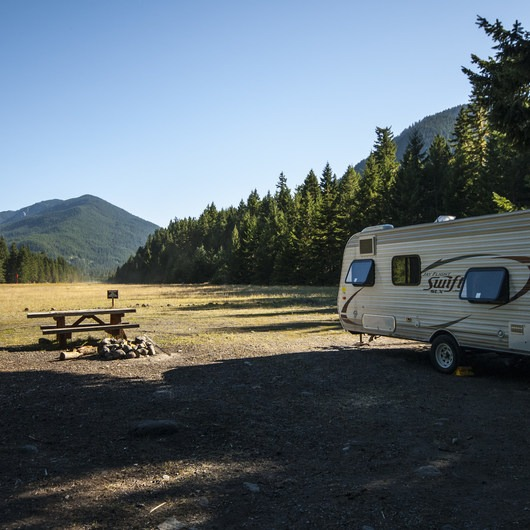 Buck Creek Campsites at Ranger Creek Airstrip
