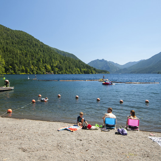 Lake Crescent, Fairholme Beach