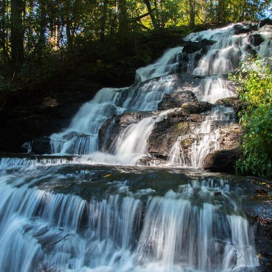 Trahlyta Lake + Falls