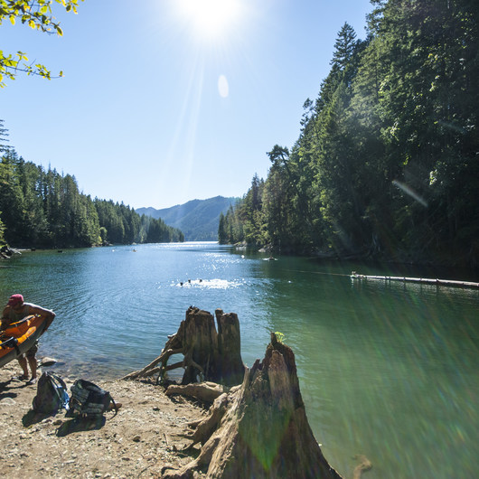 Lake Cushman, Skokomish Park North Camp