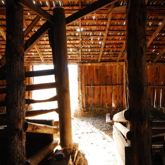 P Ranch Long Barn
